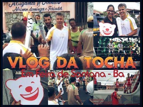 Passagem da Tocha Olímpica por Feira de Santana hoje. Um grande espetáculo com infra-estrutura obscena. Veja meu vlog e reflita. Isso é Brasil!!! #tochaolimpica #olimpíadas #olimpiadas2016 #rio #rio2016 #crise #YouTube #youtubers #Brasil #feiradesantana #Bahia #youtubersfeirenses #esporte #atleta #revezamento