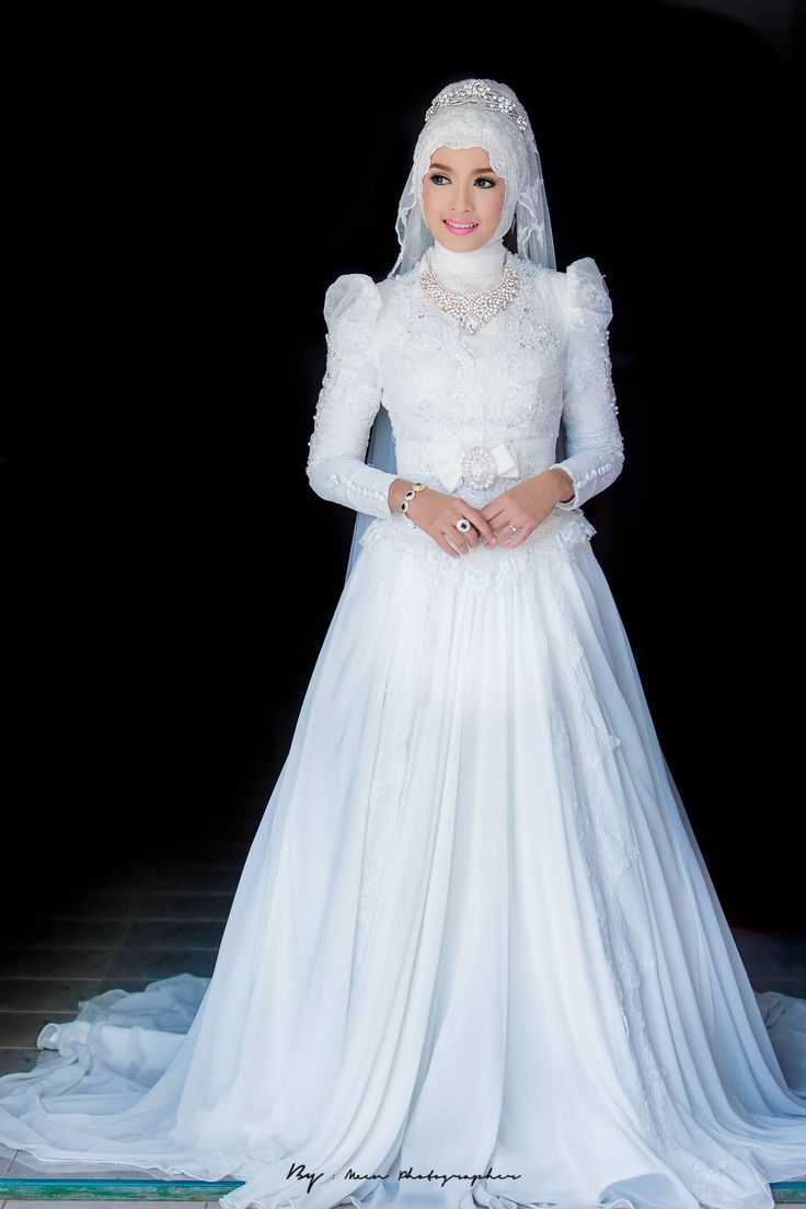 Wedding w muslim pinterest wedding wedding dress for Muslim wedding dress photo