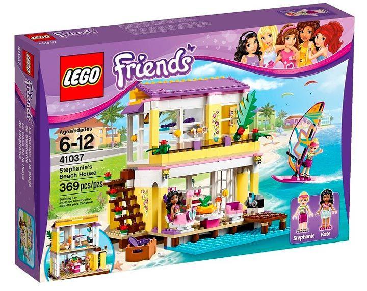 Lego Friends | Stephanie's Beach House (set# 41037) available in 2014