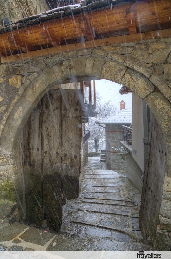 θέα από άνοιγμα, Μέτσοβο -view from opening, Metsovo, Epirus, Greece