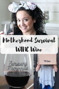 WINC | Mom life | Motherhood | Wine | wine gift | Surviving Motherhood 1 sip at a time | Mommy Gift | Wine delivery | Busy Little Izzy Blog #sp