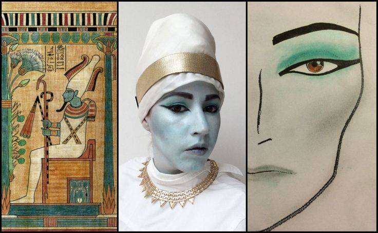 Osiris, first in my series of the gods inpired make-up