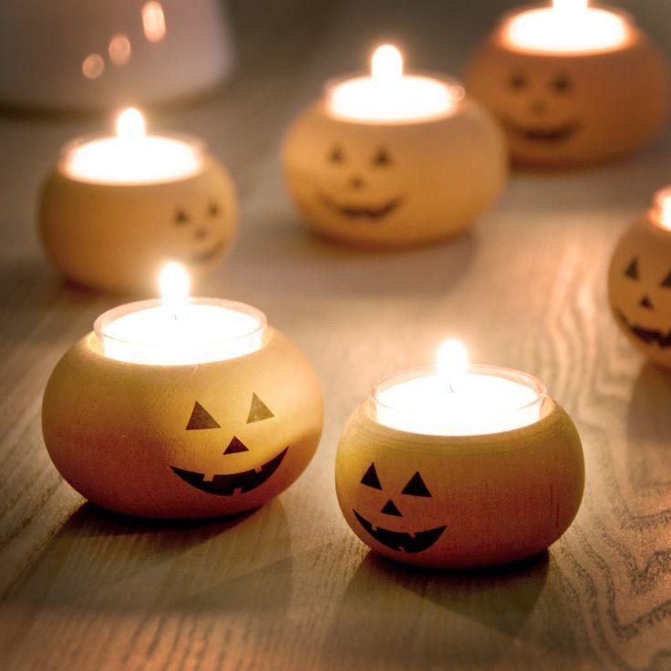 スウェーデン ラッセントレーのかぼちゃのキャンドルホルダー