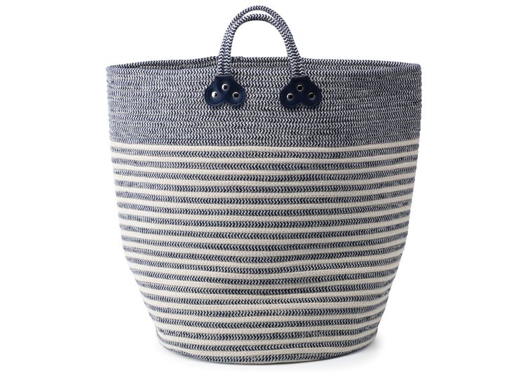 Stripe Rope Basket