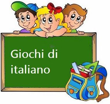 Giochi di italiano scuola primaria