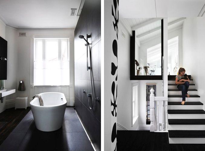 Inspiration Web Design Bathroom on the left half modern half period