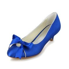 Wedding+Shoes+-+$59.99+-+Women's+Satin+Cone+Heel+Closed+Toe+Pumps+With+Bowknot++http://www.dressfirst.com/Women-S-Satin-Cone-Heel-Closed-Toe-Pumps-With-Bowknot-047048523-g48523