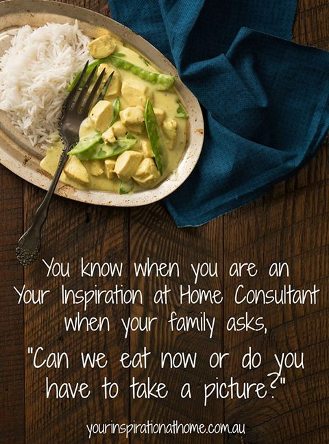 So true! Do you Love food as much as me? Visit my Facebook page to find out more information about Your Inspiration at home. https://www.facebook.com/ChristinePryorYIAH