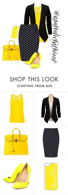 """""""Apostolic Fashions #1338"""" by apostolicfashions on Polyvore featuring The North Face, Hermès, Carvela Kurt Geiger and CellPowerCases"""
