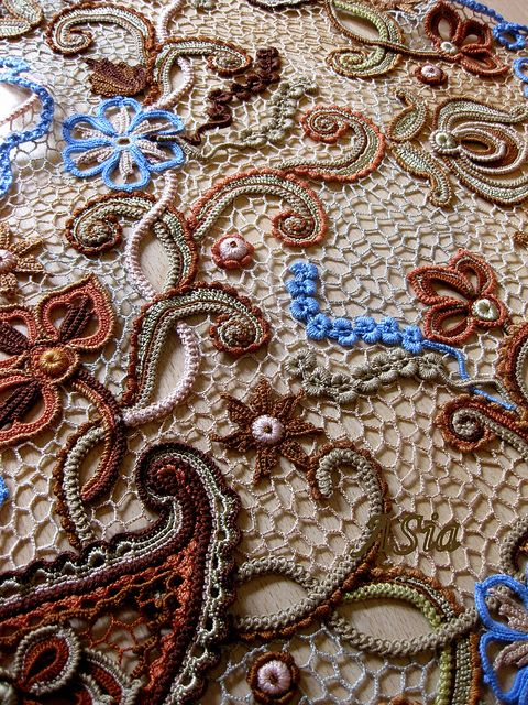 Irish crochet tutorial and information. Great resource for learning this lacework technique.