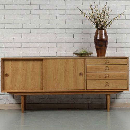 Jorgen Sideboard - Solid Oak - 175x45x76cm