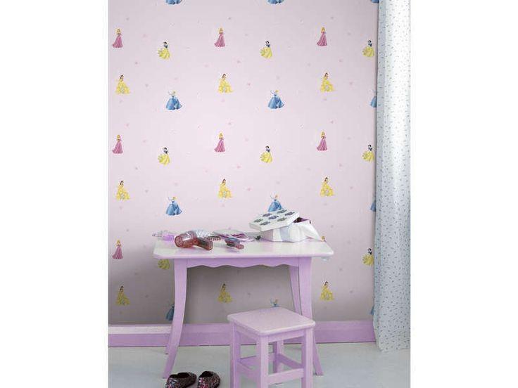 Papier peint enfant DISNEY PRINCESSES CASTLE - pas cher ? C'est sur Conforama.fr - large choix, prix discount et des offres exclusives Stickers et papier-peint sur Conforama.fr