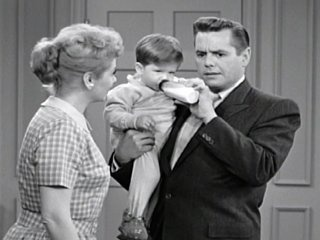with little ricky ...: Loves Lucy, Lucy Absolutely, Episode Ricky, Baby, Desilu Production, I Love Lucy, Celebrities Lucille Lucy, Ricky Ricardo