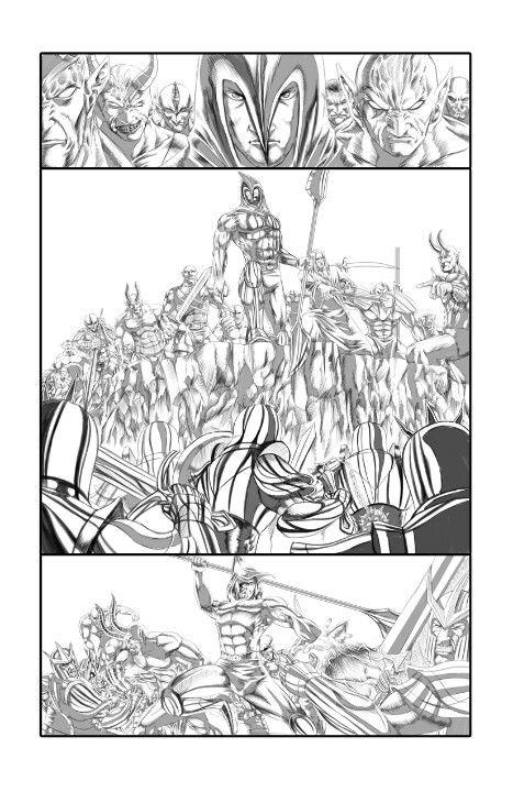 Demon's Revenge page 1