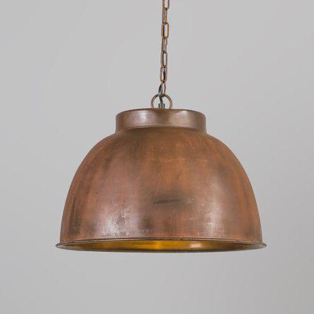 Lampa wisząca Vintage L rdza