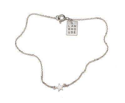 Les Etoiles - SINGLE STAR BRACELET - Sterling Silver