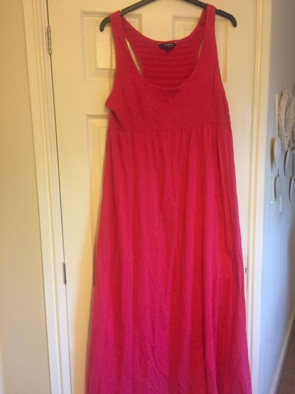 Lovely Bright Pink Maxi Dress New Look Inspire Size 24 Great Condition Dresses Ebay Link In 2020 Bright Pink Maxi Dress Maxi Dress New Long Summer Dresses Maxi