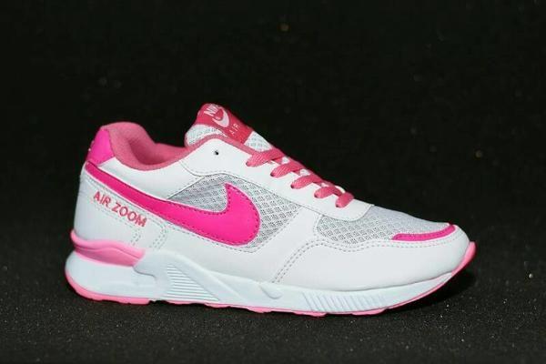 Jual Terlaris Sepatu Nike Air Zoom Women Grade Ori Putih Pink