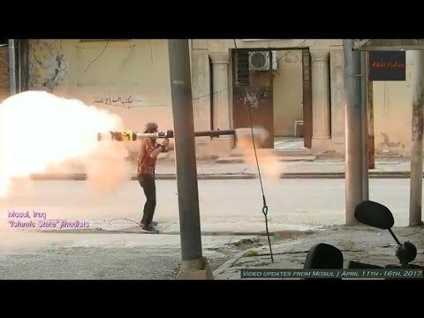 Guerra contra o ISIS no Iraque - Imagens da cidade de Mosul - 11 a 16.04...