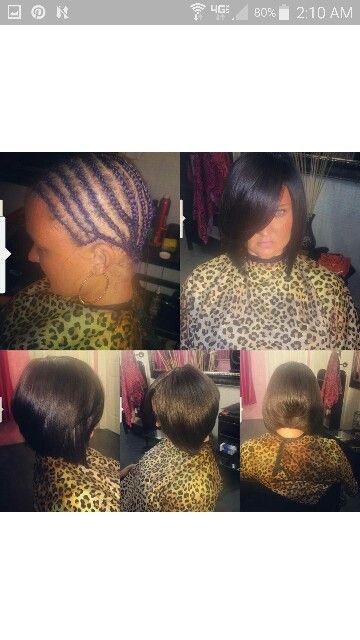 Full head weave installation