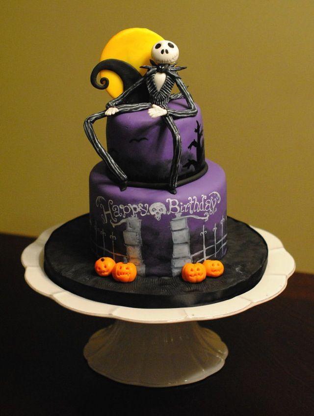 21 best Tim Burton Cake images on Pinterest   Halloween cakes ...