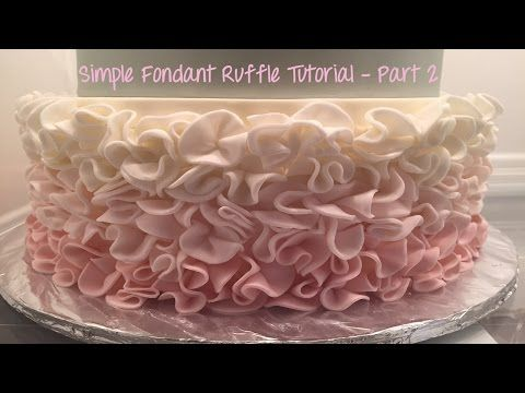 how to make fondant cake