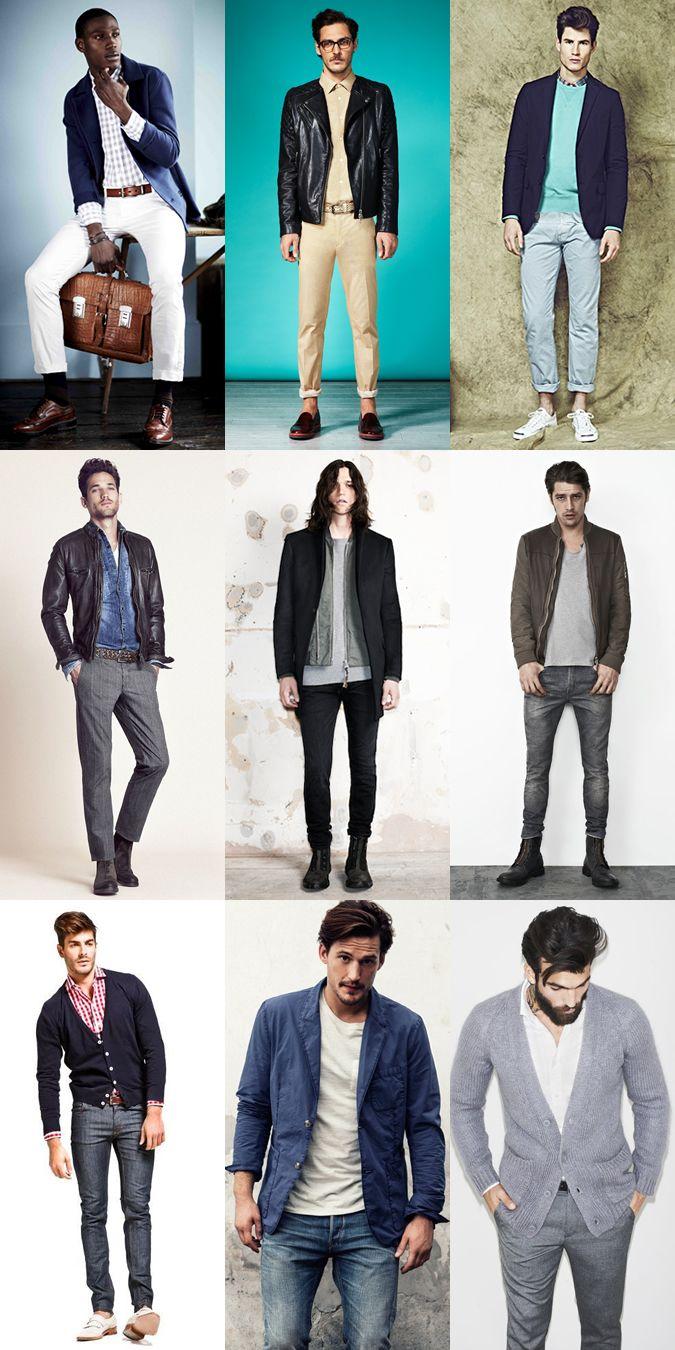 Short Men Dressing Guide - Streamline Layering, Lookbook Inspiration