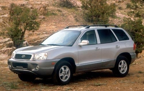 2002 Hyundai Santa Fe 2WD 4dr SUV