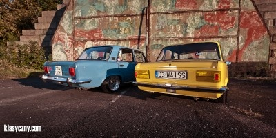 Polski FIAT 125p airride x 2