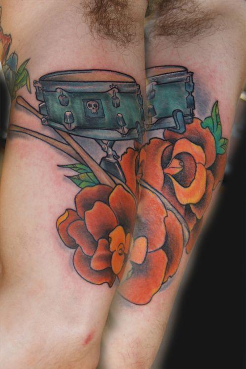 Snare Drum Tattoos   eyecatchingtattoos.