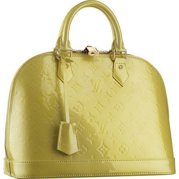 Borse Louis Vuitton Alma Vernis Monogram PM M91615 Verde