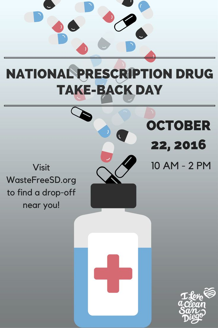 National Prescription Drug Take-Back Day aims to raise awareness about the potential abuse of medications when not disposed of properly. Find a collection site closest to your zipcode by searching www.WasteFreeSD.org and choosing the category 'Medications'.