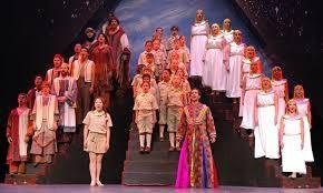 Image result for  chorus setting in joseph amazing dreamcoat