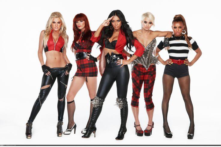 Pussycat Dolls. Групповые фото (фотограф Gavin Bond)