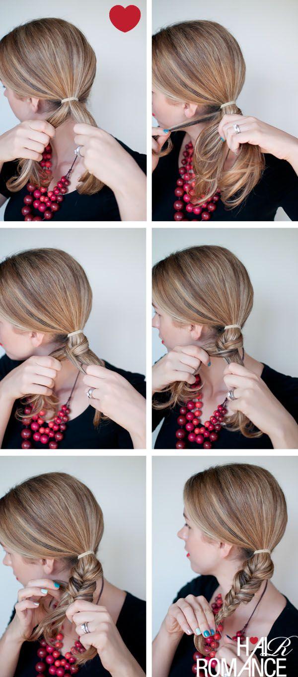 Hair Romance Fishtail braid tutorial