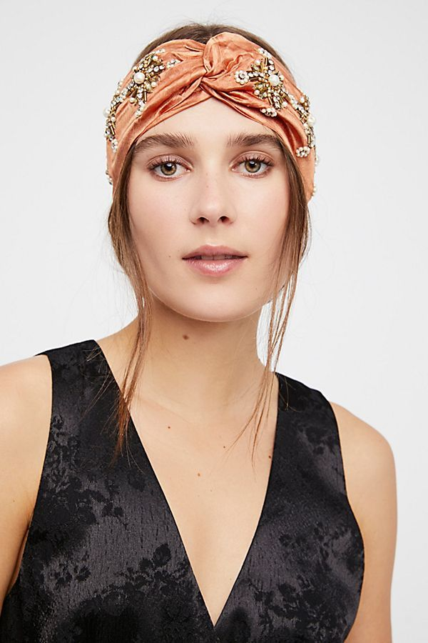 Slide View 1  Lory Embellished Turban  953d441ccc4