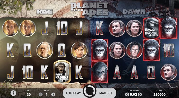 Planet of the Apes online slot review & ranking by casinoMACRO and real players. Play for FREE 1000+ casino games - video slots, blackjack, roulette & more.