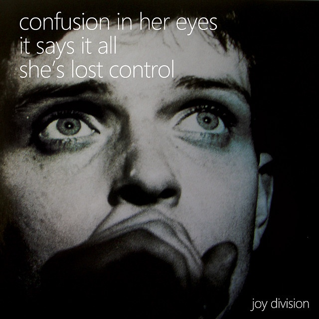 Joy Division - She´s lost control So it's not Madchester. So it's earlier. So what. without Joy Division there's nothing.