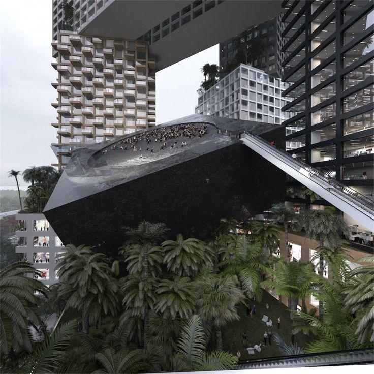 MVRDV proposes 400 meter tall 'vertical city' in Jakarta (4)