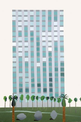 """Savings and Loan Building"" by David Hockney 1966"