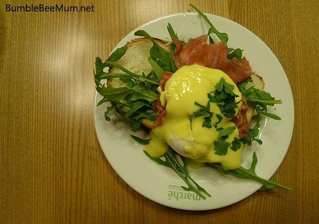 Brunch at Marche Restaurants Singapore.  Locations at Orchard, Suntec City and Vivocity.