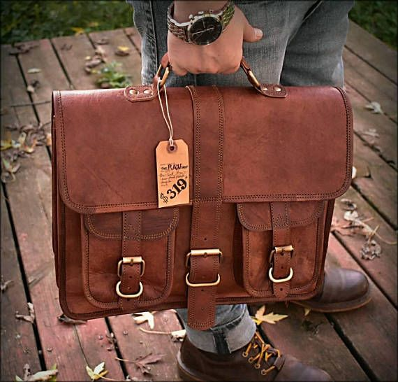 Mens Leather Messenger Bag. Leather Laptop Bag. Leather Briefcase. Natural Vegetable Tanned Leather. Leather Briefcase. Personalized Mens Leather Bag. Unisex Leather Bag. Vintage Style Leather Bag. Sale Leather Bag. Womens Briefcase, Clearance ● THE RICHMOND BAG ● ➔ Beautifully hand dyed
