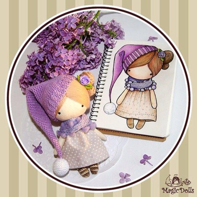 Ma Petite Poupee -Lilac Gnome (for example, для примера)