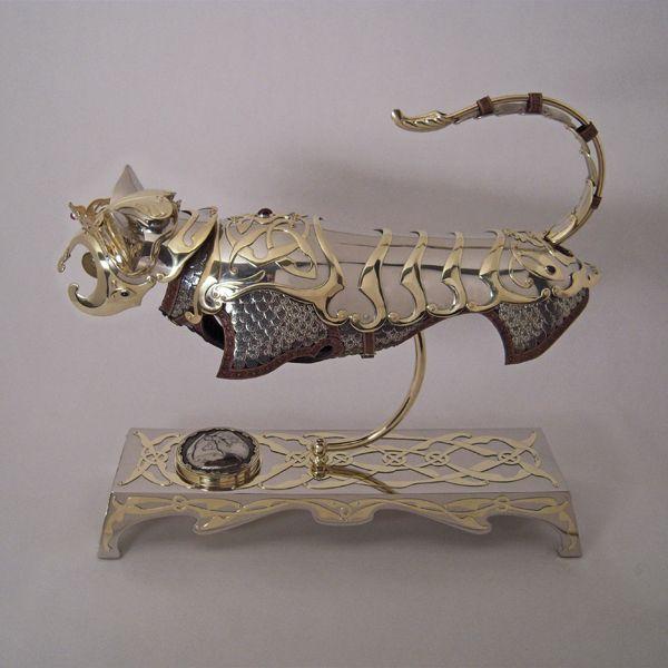 azureusblue: Armor for your Cat. And a little... - ~Wunderkammer~