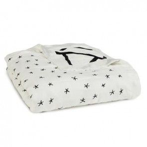 Aden + Anais Silky Soft Dream Blanket - Midnight Etoile