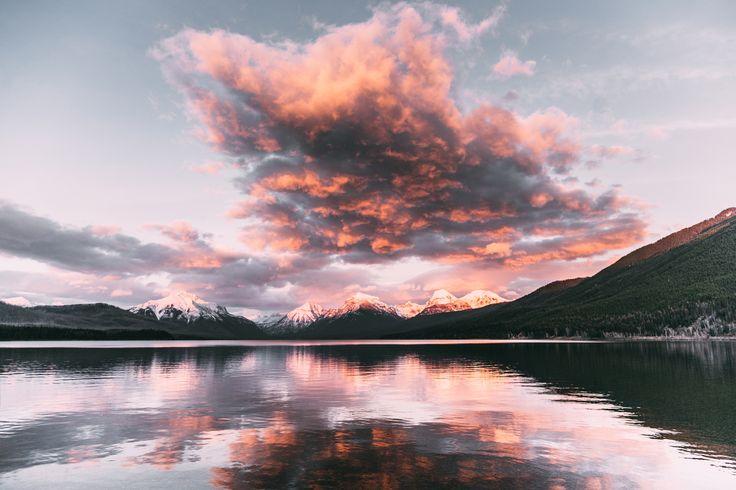 ***Lake McDonald Sunset (Glacier National Park, Montana) by Connor Surdi
