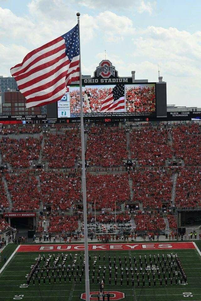 The Shoe. .. Ohio Stadium. .⭐⭐ Buckeyes beat Tulsa 45-3... 9/10/16
