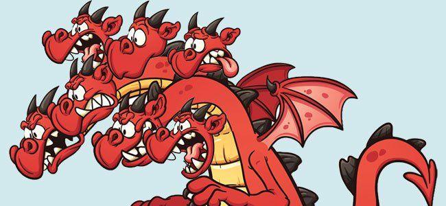 El Dragon De Siete Cabezas Cuento Infantil Sobre La Sinceridad
