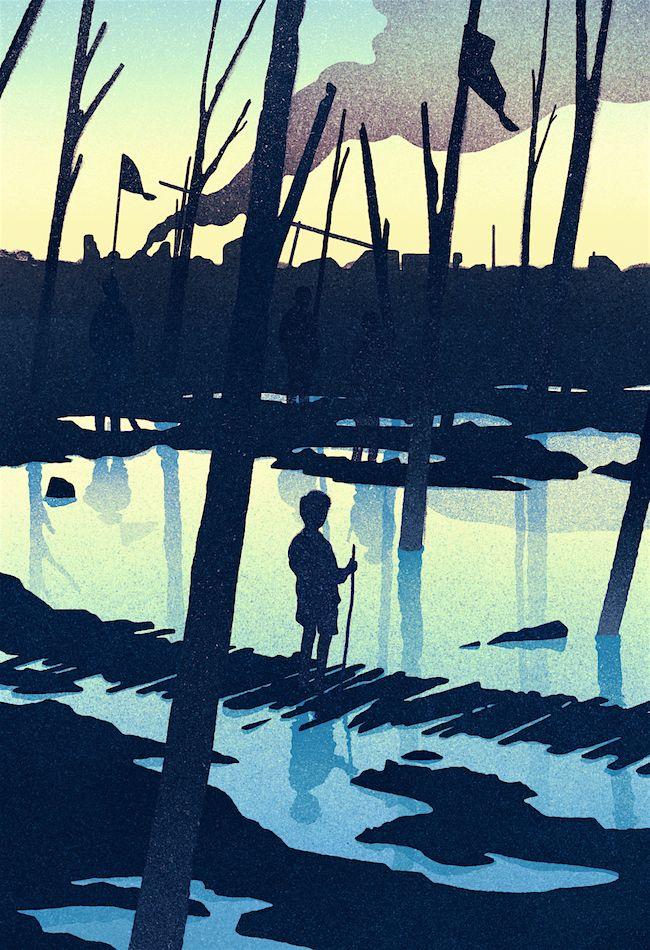 ARTIST SPOTLIGHT: Karolis Strautniekas. Jacob's Colors > Fab #illustration #art