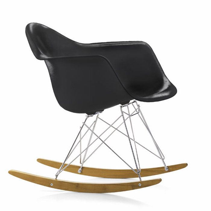 RAR Rocker. Charles Eames 1950.Seat Shell Colour: BlackProduct Brochure: Download PDFContact us now for help, for sample swatches, for a personalised quote and to discuss savings for trade and volume purchases